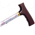 Adjustable Travel Folding Cane - Flower Garden