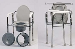 3 in 1 Folding Commode