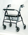 Bariatric Rollator With Loop Brakes