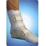 Canvas Cock Up Ankle Splint Contact Closure