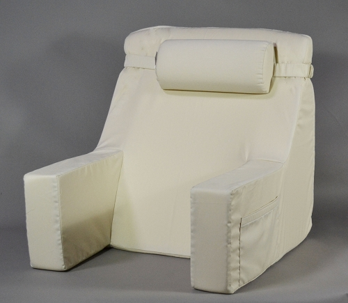 Bed Lounger W Cervical Roll