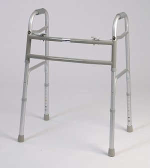 Bariatric Dual Button Folding Walker