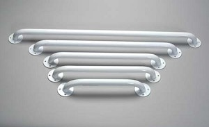 "12"" White Grab Bars"