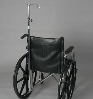 IV Pole For Wheelchair