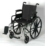 Lightweight Wheelchair With Swingaway Footrests