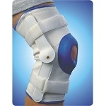 Deluxe Compression Knee Support With Hinge