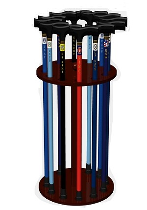 Patriotic Cane Display Deal