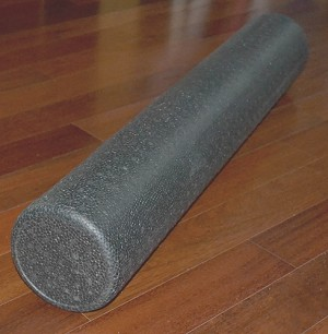 Firm Foam Roller Black