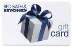 $10.00 Bed Bath & Beyond Gift Card