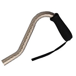 Offset Handle Aluminum Sparkle Cane - Bronze