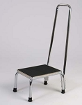 Step Stool With Hand Rail