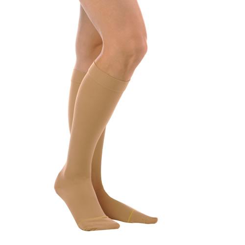 7bd3a019c Sheer Knee High Closed Toe 15-20 mmHg