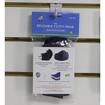 Retail Pack Fitted Reusable Cloth Mask 3 Ply
