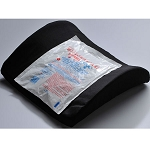 Bucket Seat Lumbar Cushion With Hot/Cold Pack