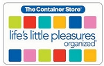 $10.00 The Container Store Gift Card