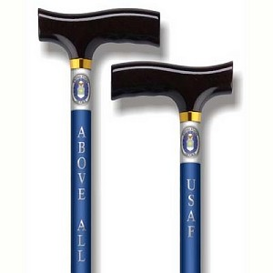 Straight Adjustable Cane - US Air Force