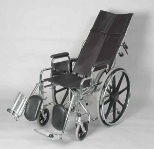 Full Reclining Wheelchair With Elevating Legrests